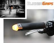 Manopole Bici con Luce Lampeggiante Per Freccia Direzionale o Ingombro