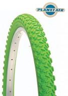 Copertone Gomma Bici 26 Pollici Misura 26x1.95 Mountain Bike Colore Verde