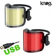 Fanale Bici Anteriore o Posteriore Batteria Ricaricabile USB Lil Cobber