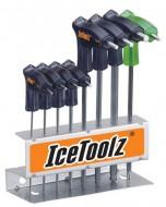 Set Chiavi Brugola a T Inclinazione a 30° IceToolz