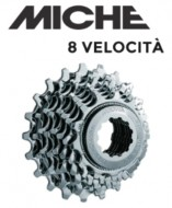 Pacco Pignoni Miche a Cassetta per Campagnolo 8 Velocità