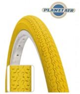 Copertone Gomma Bici 26 Pollici Misura 26x1.3/8 o 35-590 Colore Giallo