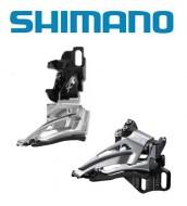 Deragliatore Cambio Marce Anteriore Bici SHIMANO XT per Doppia Corona 11 Velocità Montaggio Diretto
