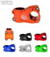 Attacco Manubrio Bici Over Entrata 31.8 mm in Alluminio Colorato 50 mm