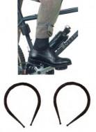 Cinghie Ferma-pantalone Bici Fissaggio a Pressione