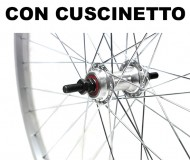 Ruota Bici 26x1.50/1.75 o 559 in Alluminio Mozzo su Cuscinetto 6/7 Velocità