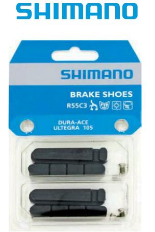 SHIMANO SET 4 PATTINI FRENO CORSA R55C3