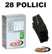 Camera d'Aria Interna Bici 28 Pollici 28x5/8x3/8 o 700x35/43 o 37-622 CST