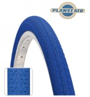 Copertone Gomma Bici 26 Pollici Misura 26x1.3/8 o 35-590 Colore Blu