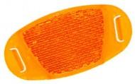 Gemme Catadiottri Arancio per Raggio Ruota Bici Bimbo Adulto 4 Pz.