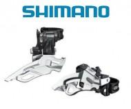 Deragliatore Cambio Marce Anteriore Bici SHIMANO DEORE per Tripla Corona 10 Velocità