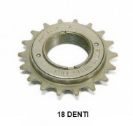 Ruota Libera o Rocchetto Bici a Filetto 1 Velocità 18 Denti