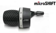Comando Cambio Marce Bici Grip Microshift 3 Velocità Anteriore a Scatto