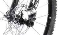 Supporto Fanale per Estremità QR o Sgancio/Bloccaggio Rapido Mozzo Ruota Bici