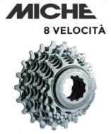 Pacco Pignoni Miche a Cassetta per Shimano 8 Velocità