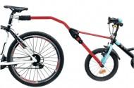 Barra Unione Bici Adulto con Bici Bimbo per Apprendimento Equilibrio CAMMELLINO