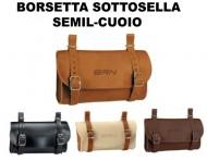 Borsetta Sottosella Bici Stile Vintage in Semilcuoio
