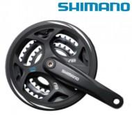 Guarnitura Bici 7/8 Velocità Shimano FC-M311