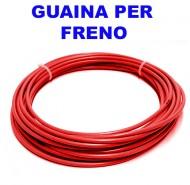Guaina Filo Freno Bici 5 mm Colore Rosso