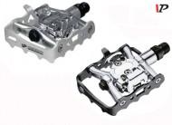 Pedali Bici DUAL VP Alluminio Forgiato Perno Cuscinetto