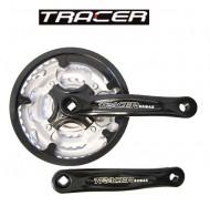 Guarnitura Bici MTB Corona Tripla 24/34/42 TRACER ROMAX