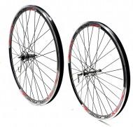 Ruote Bici 28 Pollici 700x35/43 Mozzo con Dinamo