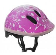 Casco Bici Bimba da 2 a 5 Anni Taglia 48-52 cm Colore Rosa