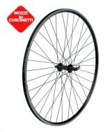 Ruote Bici Corsa 28 o 700x18/23 Cerchio in Alluminio Profilo 21 mm Colore Nero