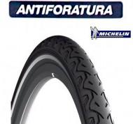 Copertone Gomma Bici 28 Pollici Misura 700x28 o 28-622 Antiforatura Michelin City Protek