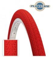 Copertone Gomma Bici 26 Pollici Misura 26x1.3/8 o 35-590 Colore Rosso
