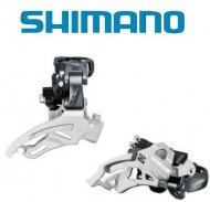 Deragliatore Cambio Marce Anteriore Bici SHIMANO ALIVIO per Tripla Corona 9 Velocità