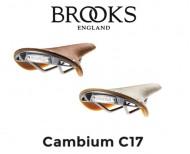 Sella Bici Brooks Modello CAMBIUM C17 Colore Marrone - Naturale