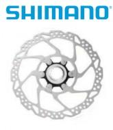 Disco Freno Bici Shimano Rotore SM RT54 Center Lock da 160 o 180 mm