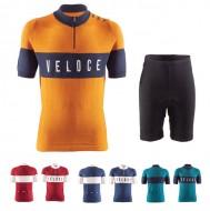 Completo Ciclista Vintage Maglia e Pantaloncino in Lana BRN VELOCE
