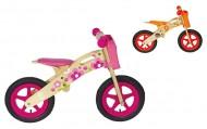 Bici Pedagogica a Spinta Senza Pedali Bimbo Bimba da 2 a 5 anni in Legno Naturale