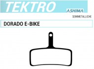 Pastiglie Freno a Disco Bici per TEKTRO Dorado e-Bike Semimetalliche ASHIMA