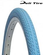 Copertone Gomma Bici 26 Pollici Misura 26x1.3/8 o 35-590 Colore Azzurro Celeste