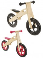 Bici Pedagogica a Spinta Senza Pedali Bimbo da 2 a 5 anni Telaio in Legno
