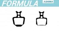 Pastiglie Freno a Disco Bici per FORMULA Organiche o Semimetalliche ASHIMA