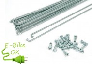 Raggio Ruota Bici Elettrica e Carretto Rinforzato 2.5 mm