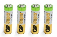 Batteria Stilo Alcaline AA 4 Pz.