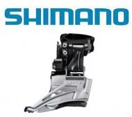 Deragliatore Cambio Marce Anteriore Bici SHIMANO DEORE per Doppia Corona 10 Velocità