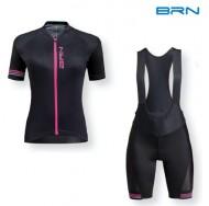Completo Ciclista Maglia e Pantalone Bici Corsa Cross Donna