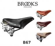 Sella Bici Brooks in Cuoio Modello B67