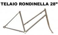Telaio Bici 28 Pollici in Acciaio Sportiva Donna Tipo Rondinella
