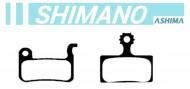 Pastiglie Freno a Disco Bici per SHIMANO Ceramica o Sinterizzata ASHIMA
