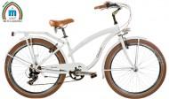 Bici 26 Pollici CRUISER Telaio Donna in Alluminio con Cambio Shimano Modello BEACH