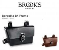 Borsetta o Bustino Rettangolare Bici Vintage al Telaio Brooks B4 FRAME