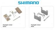 Pastiglie Freno Bici a Disco SHIMANO Metal Modello G04S o M06