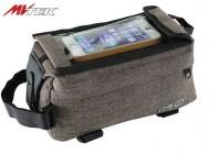 Bustino al Telaio Bici Portacellulare Touch + 3 Tasche Portaoggetti